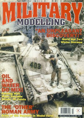 Military Modelling Magazine 2000 World War Two Winter Diorama ref101183 Pre-owned in very good condition. Magazine ONLY