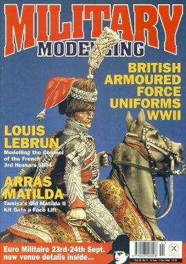 Military Modelling Magazine 2000 British Armoured Force Uniforms WWII