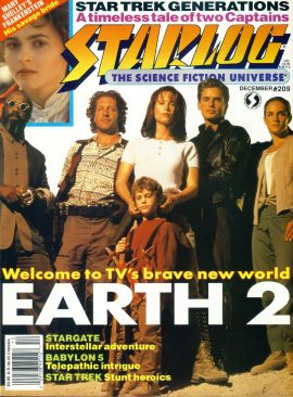 STARLOG magazine #209 1994 Earth 2