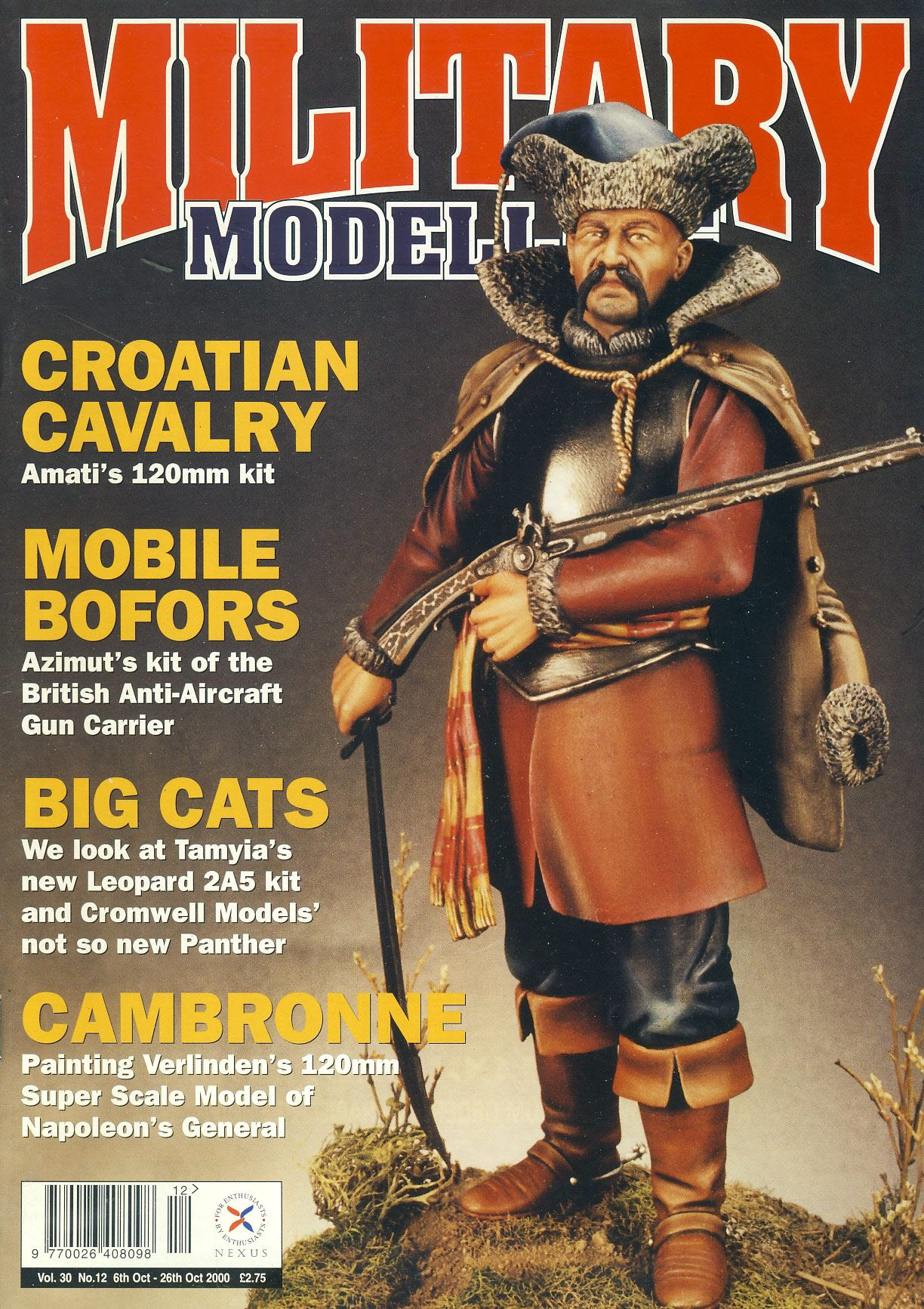 Military Modelling Magazine 2000 Croatian Cavalry