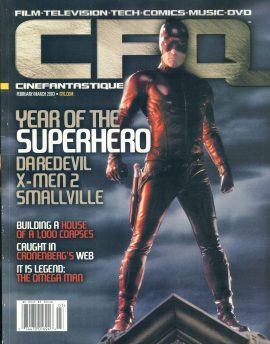 CFQ Cinefantastique 2003 magazine Year of the Superheor