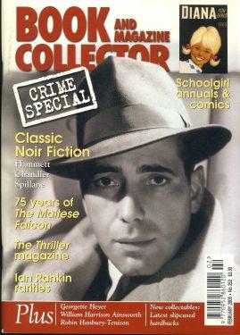 Book & Magazine Collector Crime Special