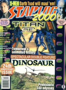 STARLOG 2000 magazine #276 David Duchovny