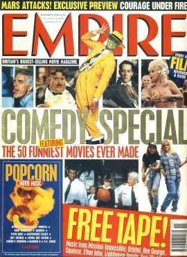 EMPIRE magazine November 1996 COMEDY SPECIAL ref10042 Pre-owned in very good clean condition. Please see larger photo and full description for details.