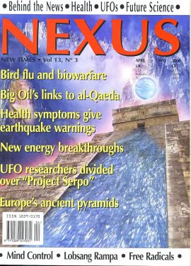 NEXUS New Times magazine Bird flu biowarfare