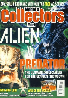 Model & Collectors Mart Magazine Nov 2004 ALIEN Vs PREDATOR ref101403 Pre-owned in very good condition. Magazine ONLY