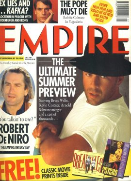 EMPIRE magazine July 1991 Bruce Willis