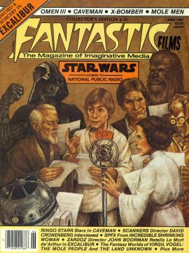 FANTASTIC FILMS #15 1981 magazine CAVEMAN Ringo Starr STAR WARS come to National Public Radio ref101152 Good Condition.  This listing is for the Magazine ONLY. Sorry no extras
