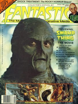 FANTASTIC FILM #27 1982 magazine SWAMP THING Shock Treatment Rocky Horrow Sequel ref101153 Good Condition.  This listing is for the Magazine ONLY. Sorry no extras