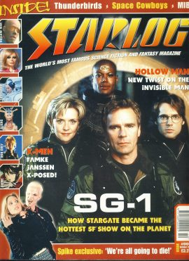 STARLOG magazine #6 Oct 2000 SG1
