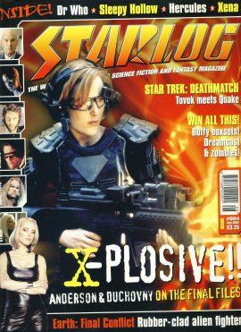 STARLOG magazine #4 Aug 2000 Gillian Anderson