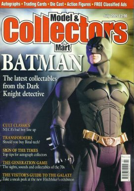 Model & Collectors Mart Magazine JULY 2005 BATMAN the Dark Knight detective ref101407 Pre-owned in very good condition. Magazine ONLY