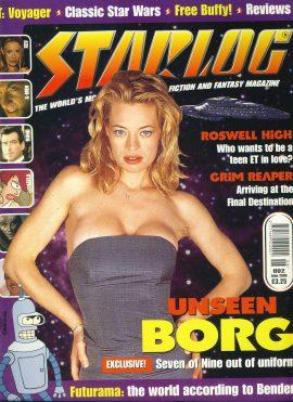 STARLOG magazine #2 June 2000 BORG Seven of Nine
