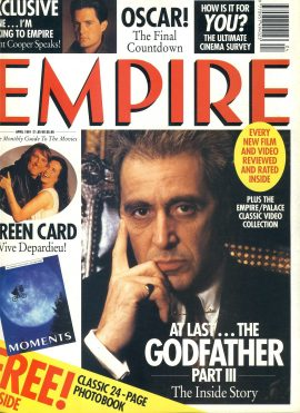 EMPIRE magazine April 1991 The Godfather Part III ref10048 Pre-owned in very good clean condition. Please see larger photo and full description for details.