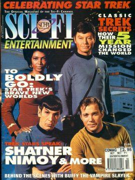 Sci-Fi Entertainment magazine 1998 Celebrating Star Trek SHATNER