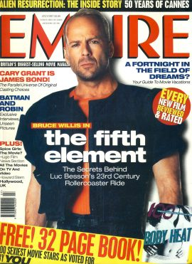 EMPIRE magazine July 1997 Bruce Willis fifth element ref10050 Pre-owned in very good clean condition. Please see larger photo and full description for details.