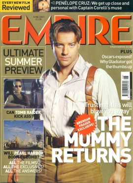 EMPIRE magazine June 2001 The Mummy Returns ref10053 Pre-owned in very good clean condition. Please see larger photo and full description for details.