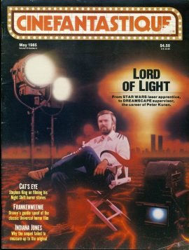 CINEFANTASTIQUE magazine Peter Kuran DREAMSCAPE STAR WARS 1985 ref100371 Science Fiction