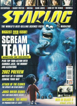 STARLOG #21 2002 Monsters In