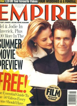 EMPIRE magazine June 1994 Mel Gibson