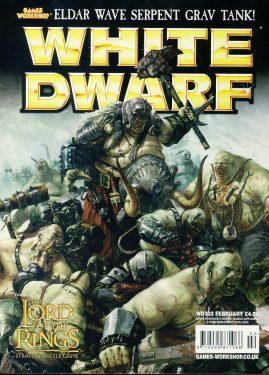 White Dwarf magazine #302 ELDAR Wave Serpent Grav Tank! LOTR Games Workshop WARHAMMER ref101414  Pre-owned in very good condition. Magazine ONLY