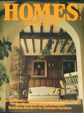 Homes & Gardens JULY 1979 vintage magazine ref101300  This vintage magazine is in Good Condition for age. Please read the full description and see photo. This listing is for the Magazine ONLY. Sorry no extras
