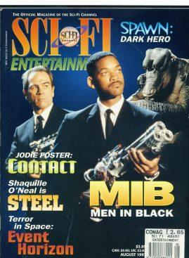 SCI-FI ENTERTAINMENT magazine 1997 MIB Men in Black