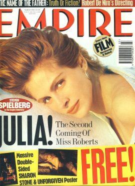 EMPIRE magazine March 1994 Julia Roberts