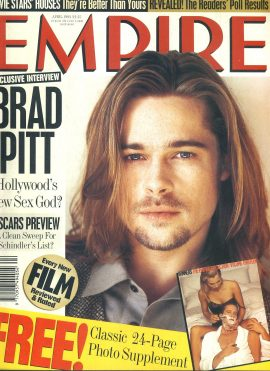 EMPIRE magazine April 1994 Brad Pitt ref10058 Pre-owned in very good clean condition. Please see larger photo and full description for details.