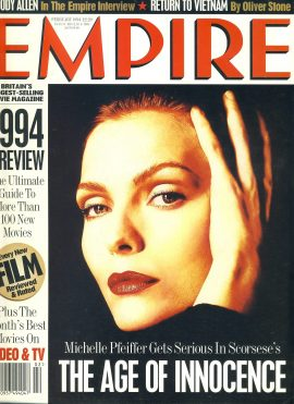 EMPIRE magazine February 1994 Michelle Pfeiffer ref10059 Pre-owned in very good clean condition. Please see larger photo and full description for details.