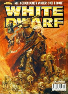 White Dwarf magazine #279 Lord of the Rings Two Towers Games Workshop WARHAMMER ref101418  Pre-owned in very good condition. Magazine ONLY