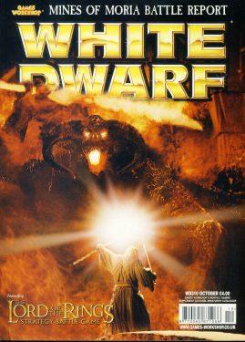 White Dwarf magazine #310 Mines of Moria