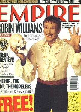 EMPIRE magazine January 1994 Robin Williams ref10060 Pre-owned in very good clean condition. Please see larger photo and full description for details.