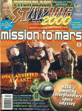 STARLOG #273 magazine MISSION TO MARS