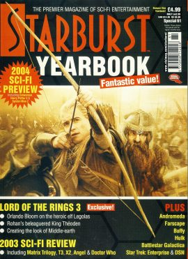 Starburst Special 61 YEARBOOK 2004 magazine Lord of the Rings 3 ref100918 Pre-owned in very good condition. Magazine ONLY