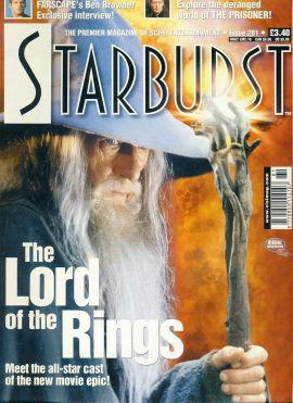 Starburst #281 magazine Lord of the Rings