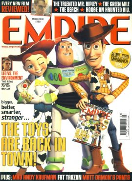 EMPIRE magazine March 2000 Toy Story