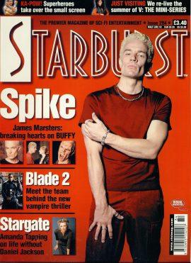 Starburst #284 magazine Spike James Marsters BUFFY
