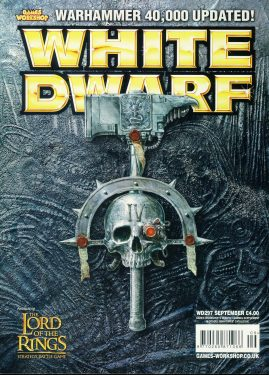 White Dwarf magazine #297 feat.Lord of the Rings stategy battle game Games Workshop WARHAMMER ref101426  Pre-owned in very good condition. Magazine ONLY