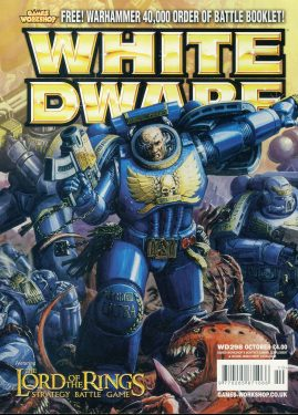 White Dwarf magazine #298 feat. LOTR Strategy Battle Game Games Workshop WARHAMMER ref101427  Pre-owned in very good condition. Magazine ONLY