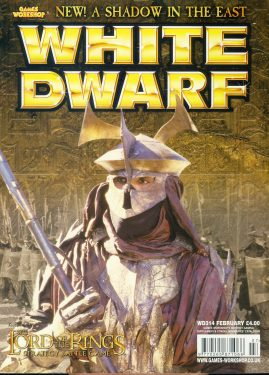 White Dwarf magazine #314 A Shadow in the East
