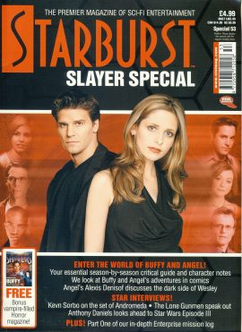 Starburst Slayer Special 53 magazine BUFFY & ANGEL ref100925 Pre-owned in very good condition. Magazine ONLY