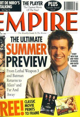 EMPIRE magazine July 1992 Mel Gibson