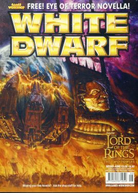 White Dwarf magazine #282 feat. Lord of the Rings Two Towers Games Workshop WARHAMMER ref101429  Pre-owned in very good condition. Magazine ONLY