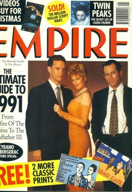 EMPIRE magazine January 1991 with prints ref10072 Pre-owned in good clean condition. Please see larger photo and full description for details.