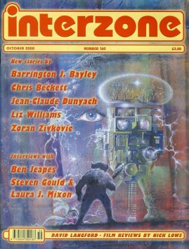 interzone #160 2000 magazine Ben Jeapes