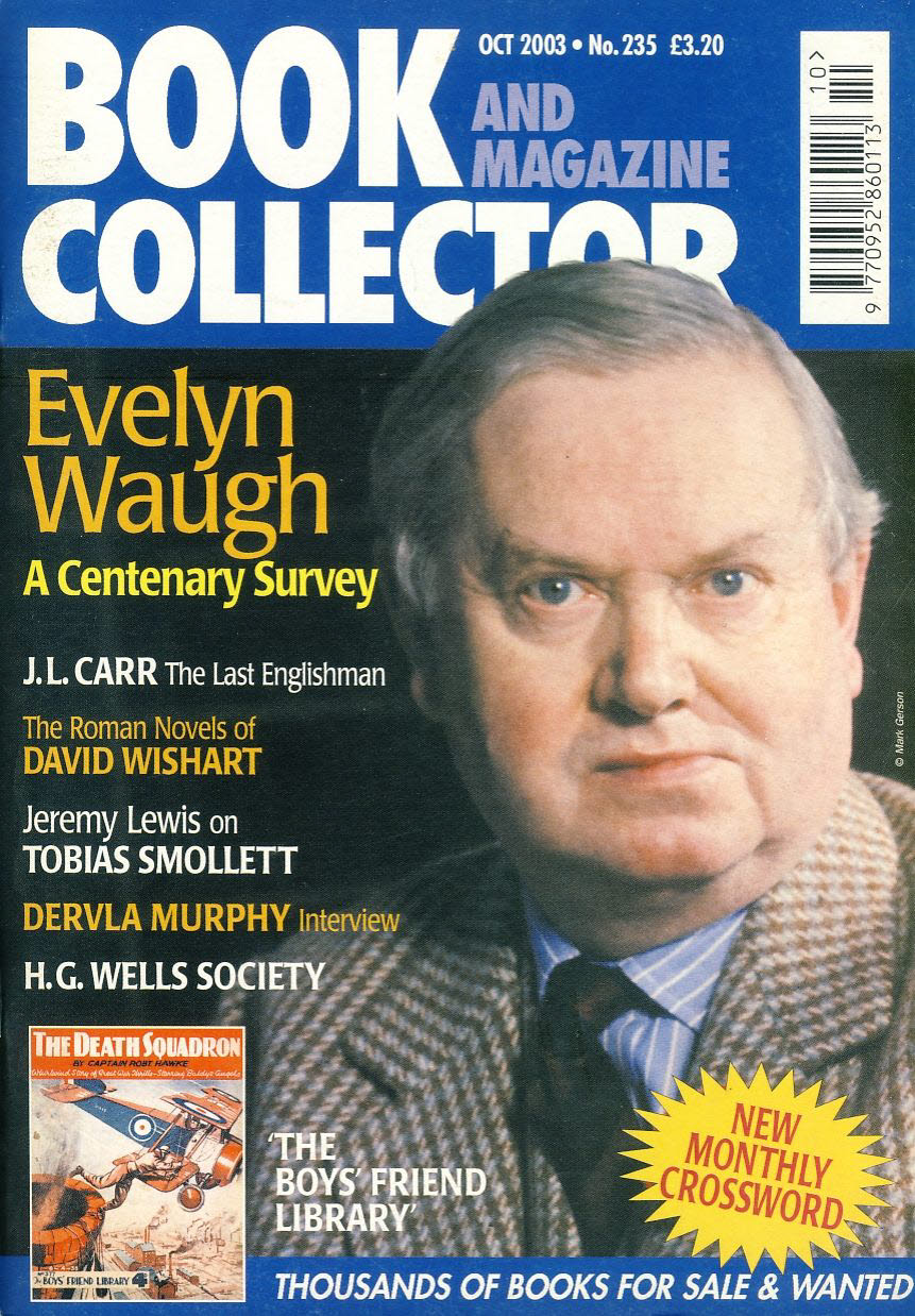 Book & Magazine Collector #235 2003 EVELYN WAUGH