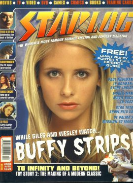 STARLOG Dec 2000 magazine Buffy Strips