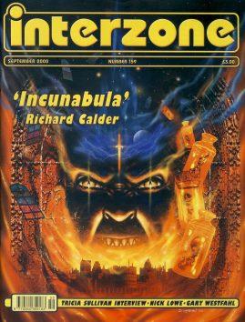 interzone #159 2000 magazine Tricia Sullivan interview