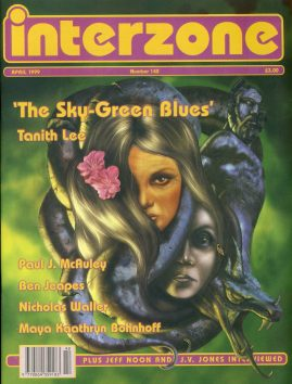 interzone #180 1999 magazine Jeff Noon 7 J.V.Jone inteviews